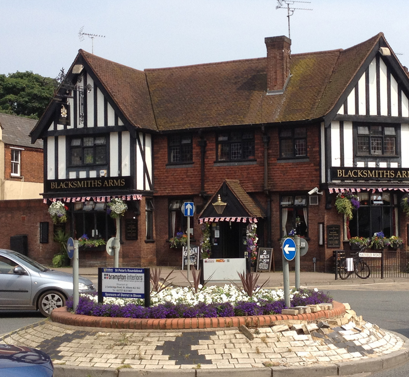 The Backsmiths Arms is a fantastic selection of real ales and local atmosphere. Located in heart of St Albans
