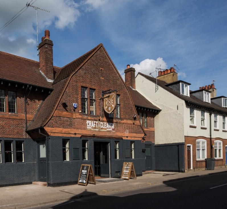 Craft & Cleaver is best for beer or craft food, Located in Catherine Street, St Albans