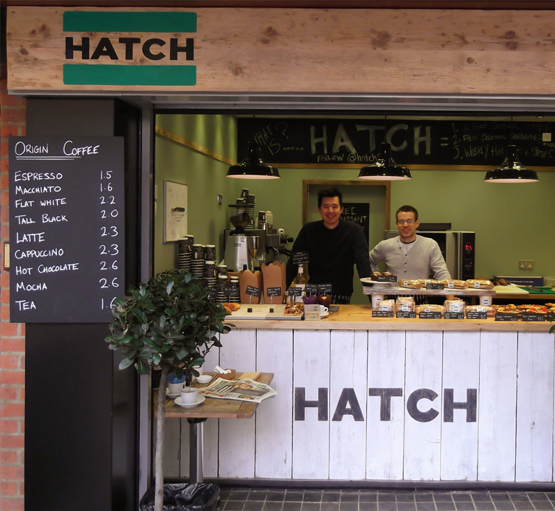 Hatch ideal destination to grab some food, Located in Maltings shopping centre, St Albans